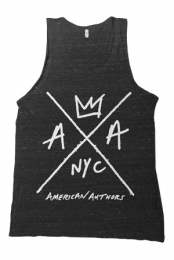 Hand Drawn Logo Tank (Tri-Black)