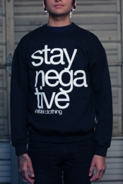 Stay Negative Crewneck Sweatshirt