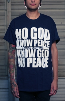 No God Know Peace