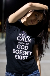 Keep Calm Because God Doesn't Exist
