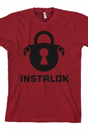 Logo T-shirt (Independence Red) - Instalok