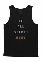 It All Starts Here Tank (Black)