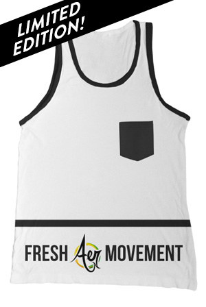 Custom Pocket Tank (White)