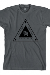 Triangle Tee (Heavy Metal Grey)