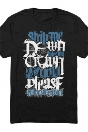 Crestfallen Lyric Tee (Black)