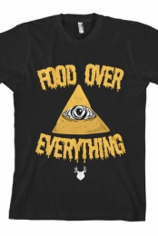 Food Over Everything Tee (Black)