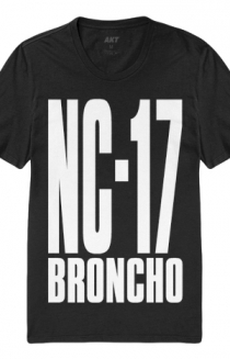 Big NC-17 Tee (Black)