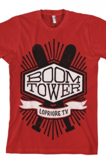 Boom Tower Tee (Red)