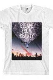 Escape From Reality Tee (White)