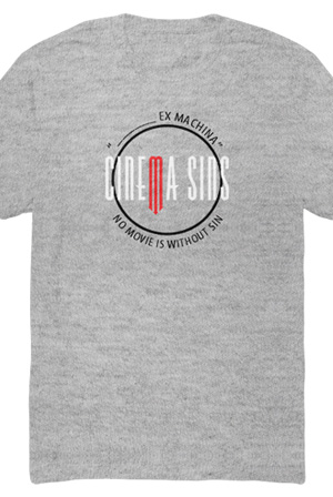 No Movie Is Without Sin Tee (Heather Grey)
