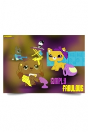 Simply Fabulous Poster 11x17