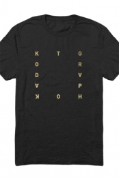 Gold Foil Square Tee (Black)
