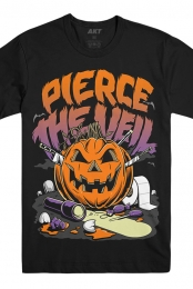 Halloween Pumpkin Tee (Black)