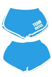 Team Royce Booty Shorts (Teal)
