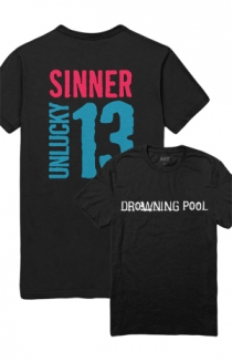 Exclusive Sinner Unlucky 13 Tee (Black)