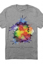 Exploding Joy Tee (Heather Grey)