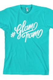 Glam Fam Tee (Turquoise)