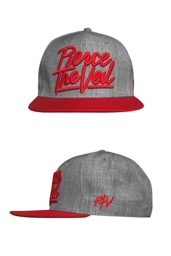 91469c0785e Red Logo Snapback