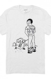 Hated In Amerika Tee (White)