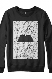Marble M Box Crewneck Sweatshirt (Black)