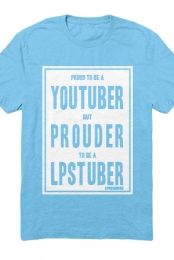 Proud LPStuber T-shirt (Light Blue)