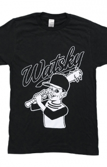 Baseball Kid Tee (Black)