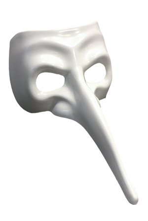 Plague Doctor Mask (White)