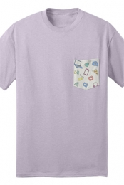 Iconic Pocket Tee (Purple)