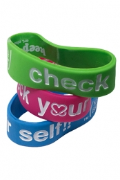 Keep A Breast Check Your Self!! Bracelet - 3 Pack