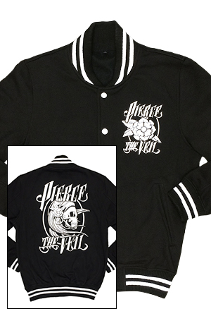 Gypsy Girl Varsity Jacket (Black)