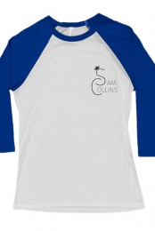 Sam Collins Baseball Tee (Blue)