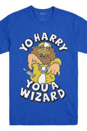 Yo Harry Tee (Royal Blue)