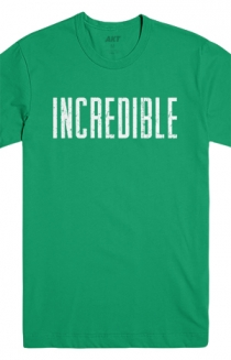 Incredible Tee (Kelly Green)