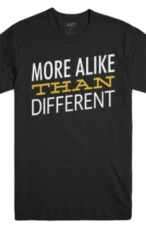 More Alike Than Different Tee (Black)