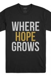 Where Hope Grows Tee (Black)