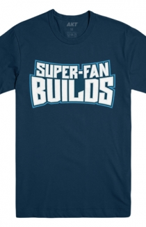 Super-Fan Builds Tee (Navy)