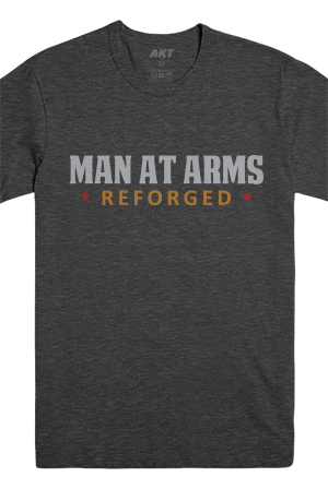 Man At Arms Reforged Tee (Heather Charcoal)
