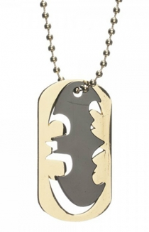 Batman Cutout Logo Dog Tag