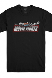 Movie Fights Tee (Black) - Screen Junkies