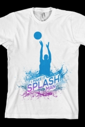 Make It Splash Tee (White)
