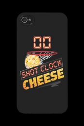 Shot Clock Cheese iPhone Case