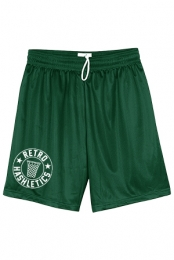 Retro Hashletics Hoop Shorts (Green)