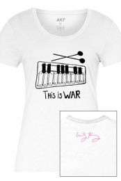 This Is War Tee (White)