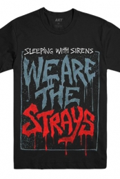 We Are the Strays Tee (Black)