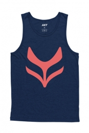 Fox Tank Top (Navy)