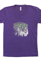 Moon Girls Tee (Heather Purple)
