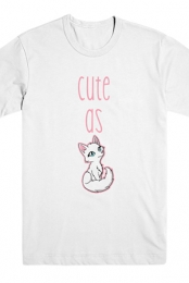 Cute As Fox Tee