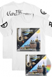 Evermore Tee (White) + Evermore - The Art of Duality CD