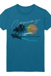 Vacation Tee (Teal)
