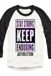 Keep Enduring Space Raglan